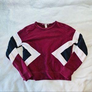 F21 Contemporary Pullover Sweatshirt